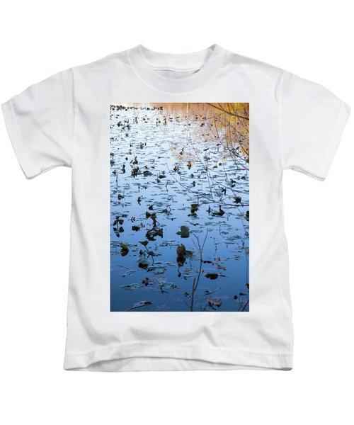 Water Lilies Autumn Song Kids T-Shirt
