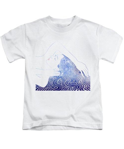 Water Nymph Lxxix Kids T-Shirt