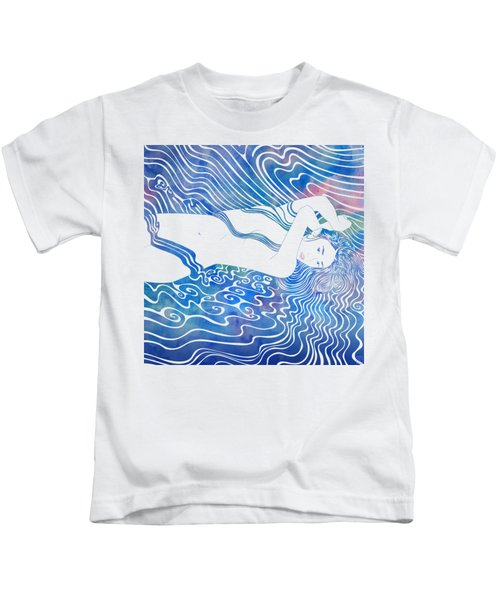 Water Nymph Lxxxiii Kids T-Shirt