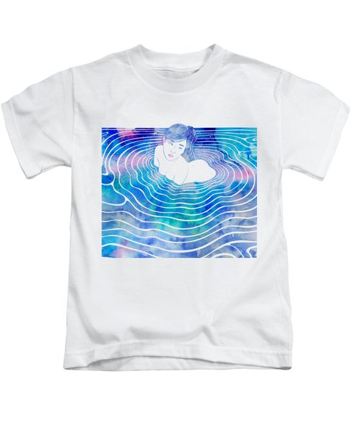 Water Nymph Lxxxix Kids T-Shirt