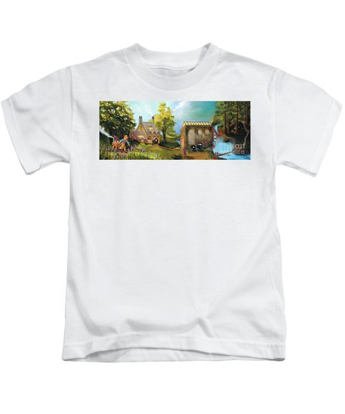Water Wheel Kids T-Shirt