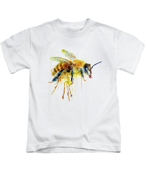 Watercolor Bee Kids T-Shirt