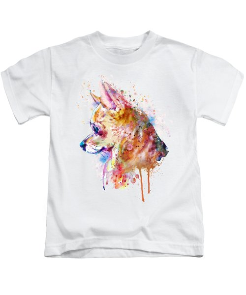 Watercolor Chihuahua  Kids T-Shirt
