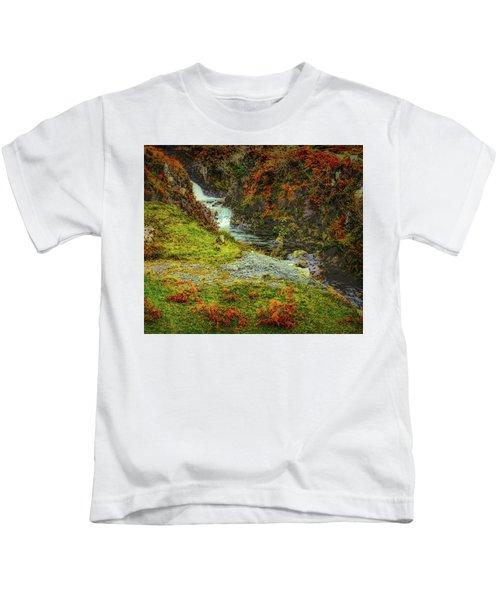 Waterfall 1 #g9 Kids T-Shirt