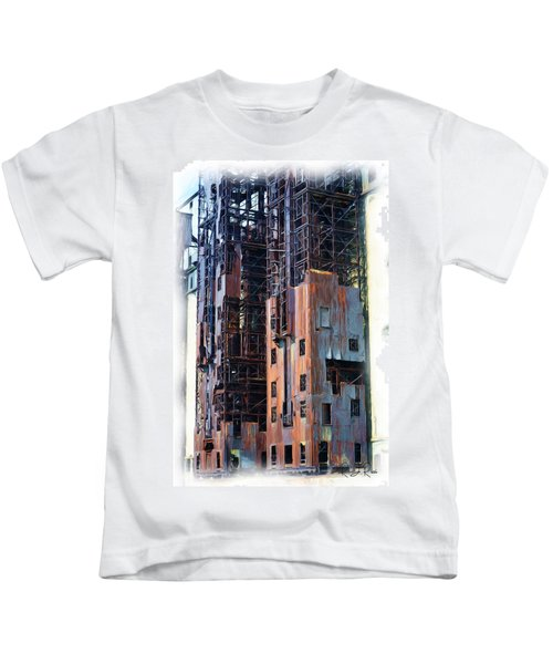Waterfront Decay One Kids T-Shirt