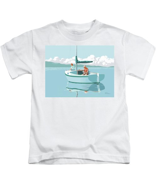 Wating For The Wind Kids T-Shirt