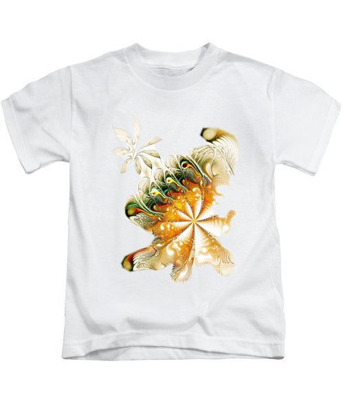 Waves And Pearls Kids T-Shirt