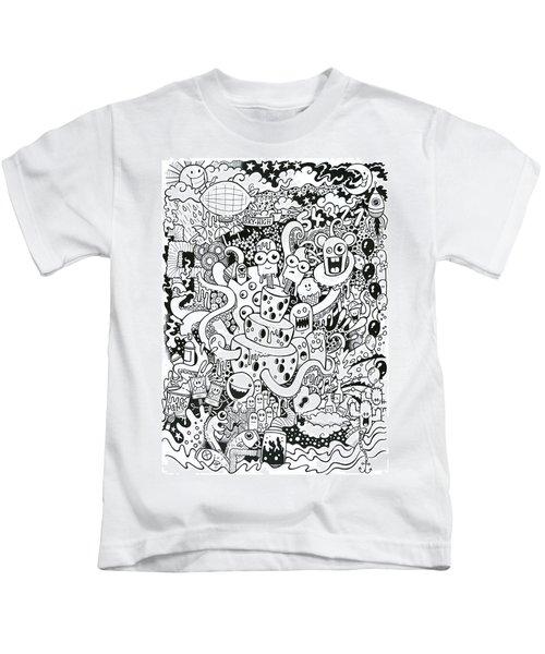 We All Love Cheese Kids T-Shirt