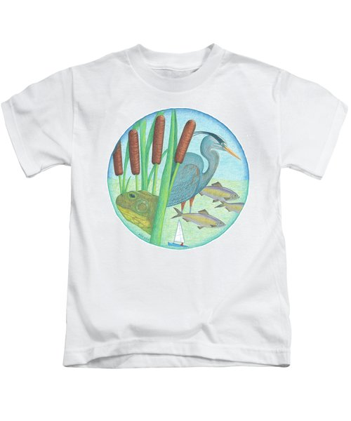 We Are All Connected Kids T-Shirt