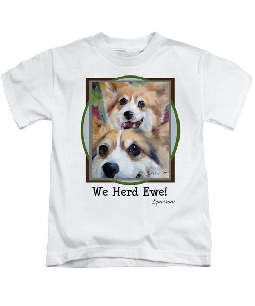 We Herd Ewe Kids T-Shirt