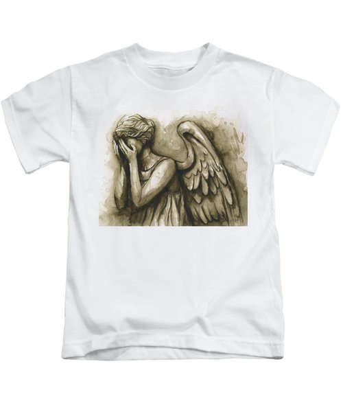 Weeping Angel Kids T-Shirt
