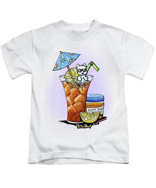 West Highland Iced Tea Kids T-Shirt