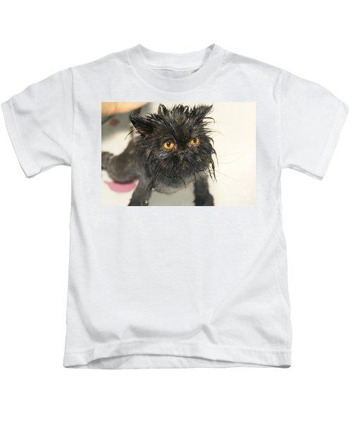 Wet Cat Kids T-Shirt