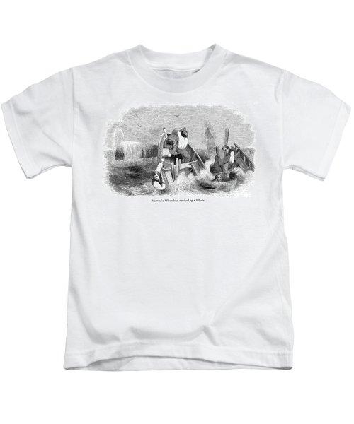 Whaling, C1830 Kids T-Shirt