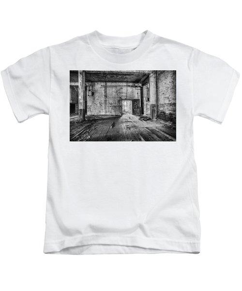 What Awaits Outside Kids T-Shirt