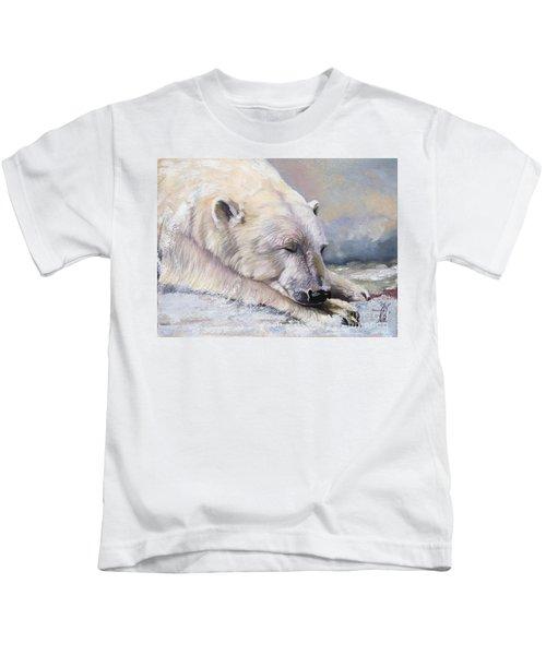 What Do Polar Bears Dream Of Kids T-Shirt
