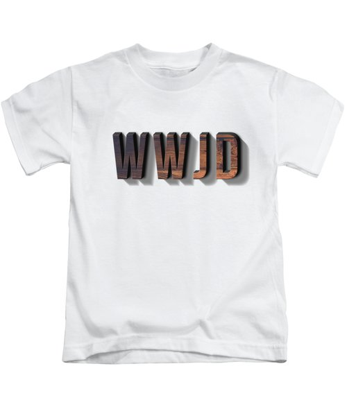 What Would Jesus Do Tee Kids T-Shirt