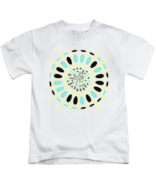 Wheel On White Kids T-Shirt