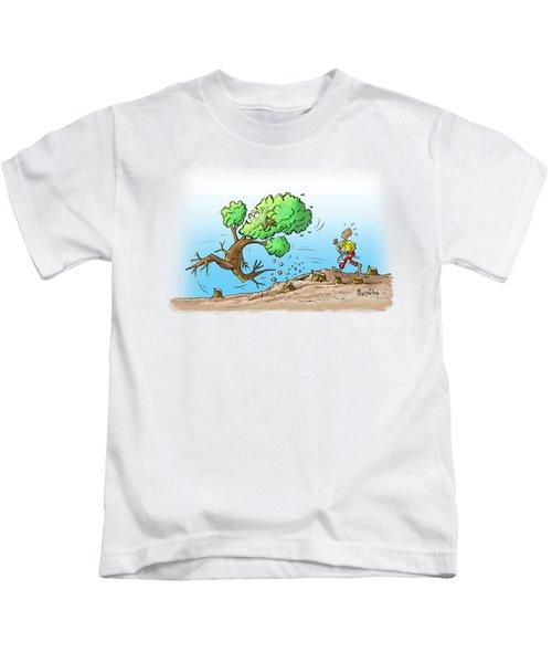 When The Going Gets Tough Kids T-Shirt