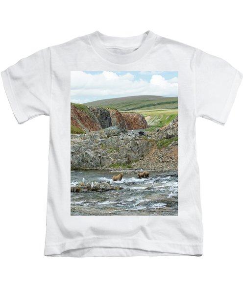 Where The Bears Are  Kids T-Shirt