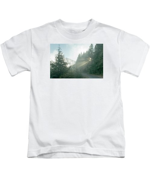 Where Will Your Road Take You? Kids T-Shirt