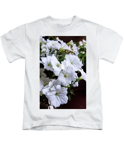 White Flowers Kids T-Shirt
