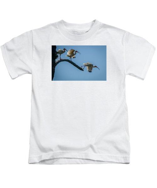 White Ibis Takeoff Kids T-Shirt