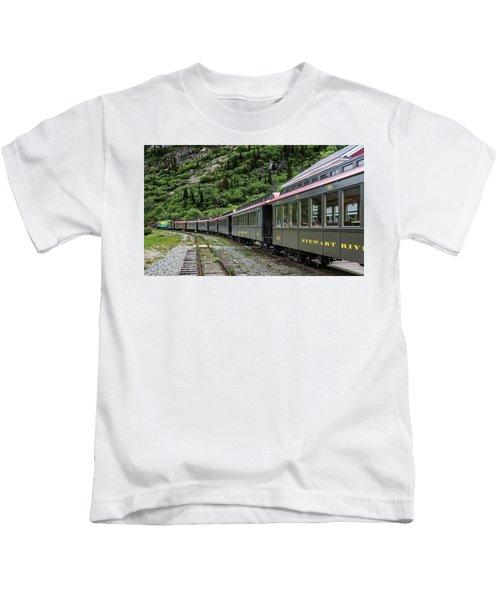 White Pass And Yukon Railway Kids T-Shirt
