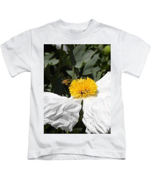 White Poppy Kids T-Shirt