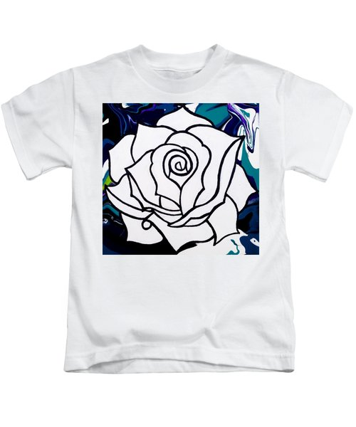 White Rose Kids T-Shirt