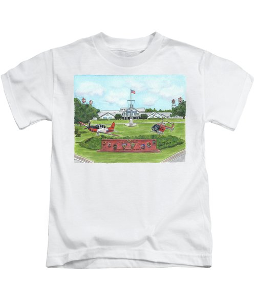 Whiting Field Welcome Sign Kids T-Shirt