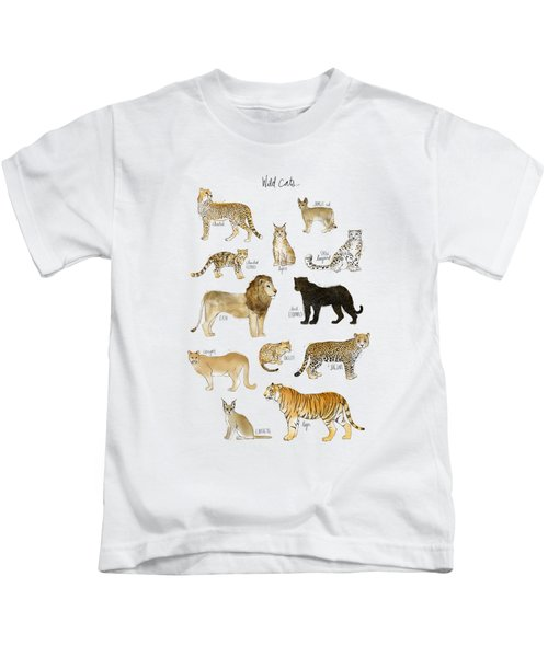 Wild Cats Kids T-Shirt