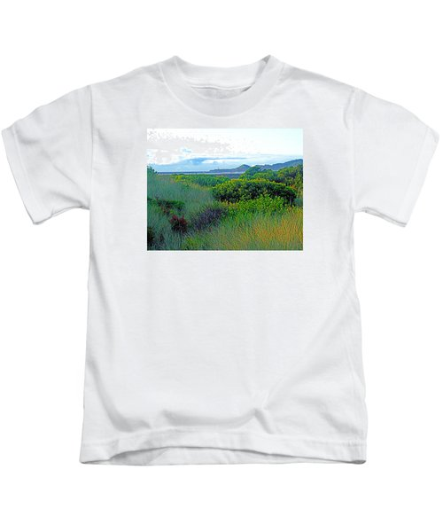 Wild Coastal Flora Kids T-Shirt