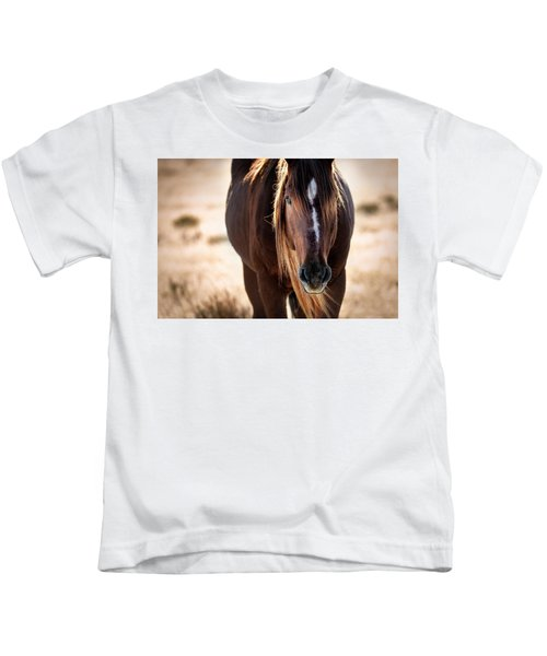 Wild Horse Watching Kids T-Shirt