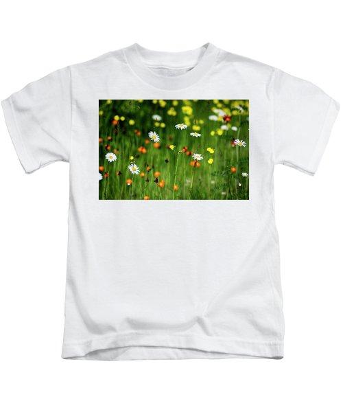 Wildflowers2 Kids T-Shirt