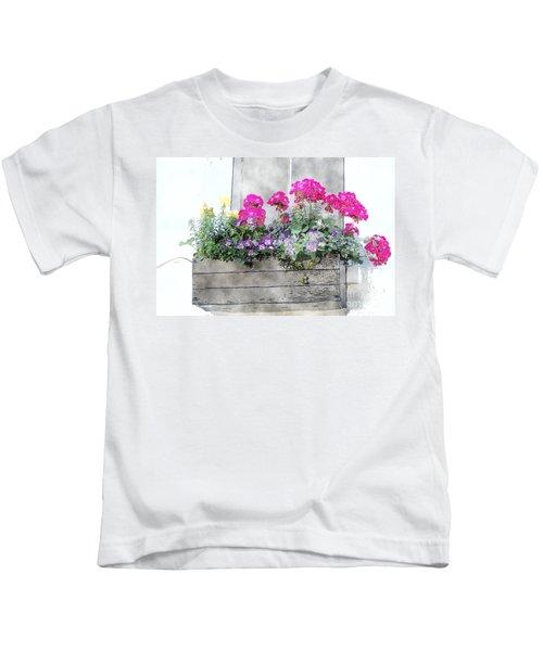 Window Box 5 Kids T-Shirt
