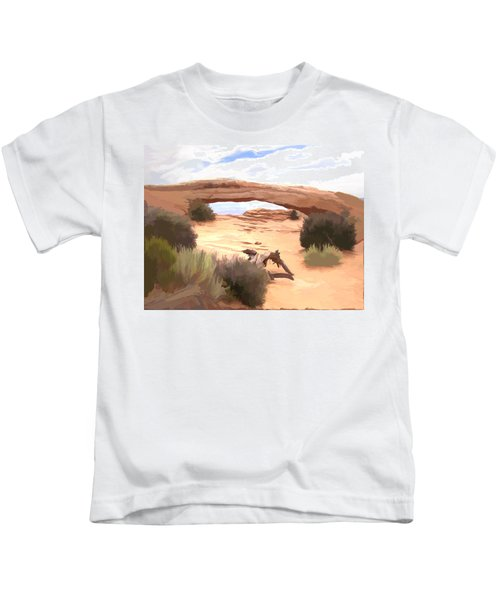 Window On The Valley Kids T-Shirt