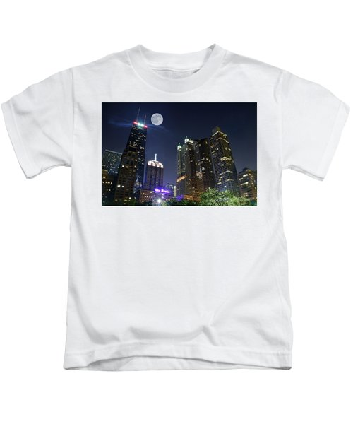 Windy City Kids T-Shirt by Frozen in Time Fine Art Photography