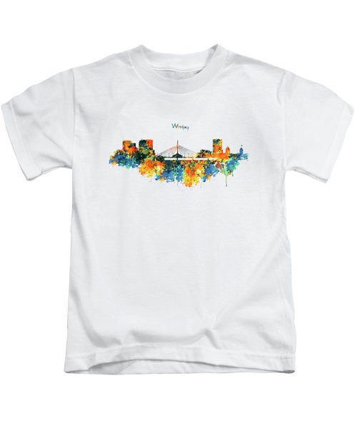 Winnipeg Skyline Kids T-Shirt