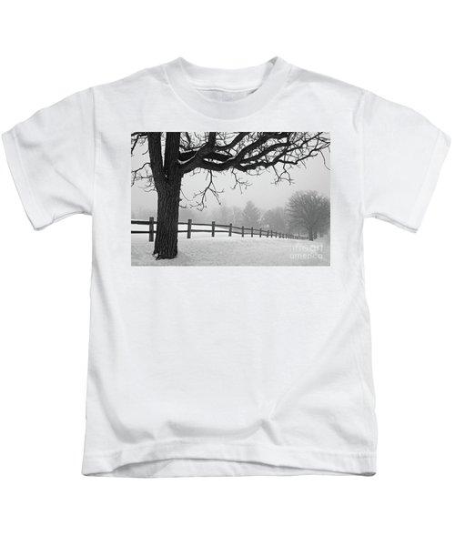 Winter Fog Kids T-Shirt