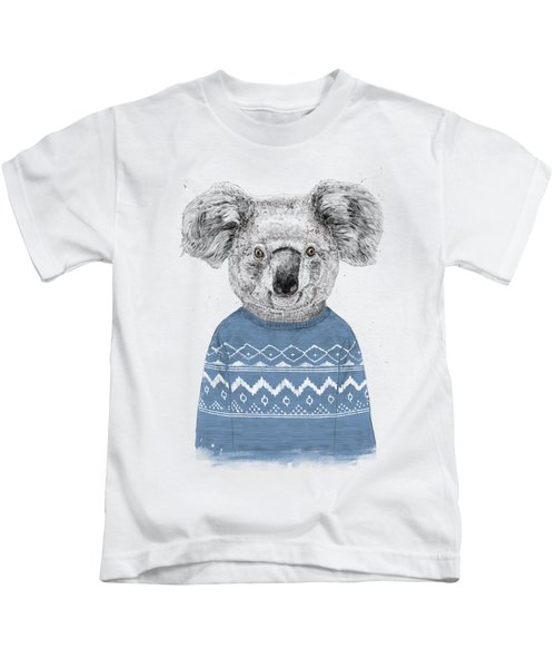 Winter Koala Kids T-Shirt
