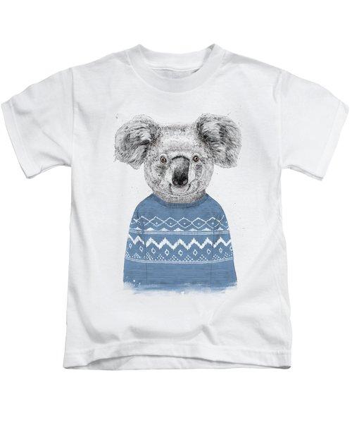 Winter Koala Kids T-Shirt