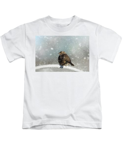 Winter Morning Kids T-Shirt