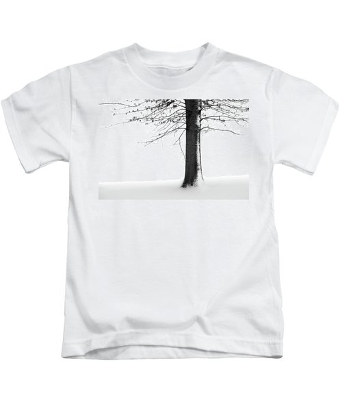 Winter Solitude Kids T-Shirt