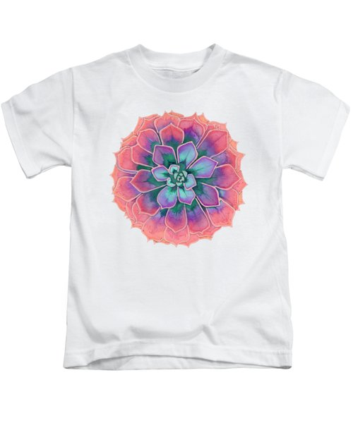 Winter Succulent Kids T-Shirt