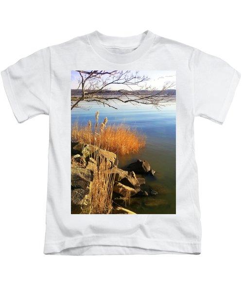 Winter Water Kids T-Shirt