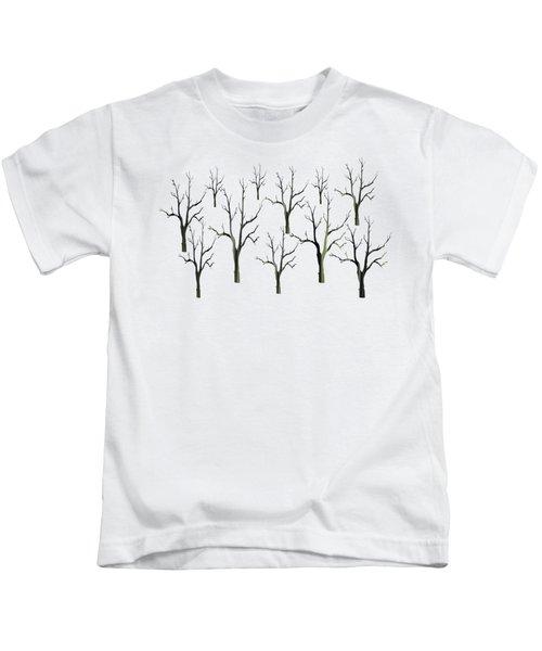 Winter Woods Kids T-Shirt