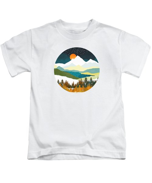 Winters Night Kids T-Shirt