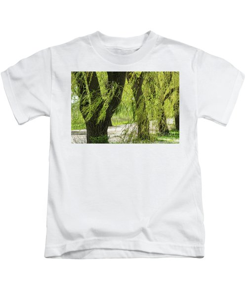 Wispy Willows-2 Kids T-Shirt