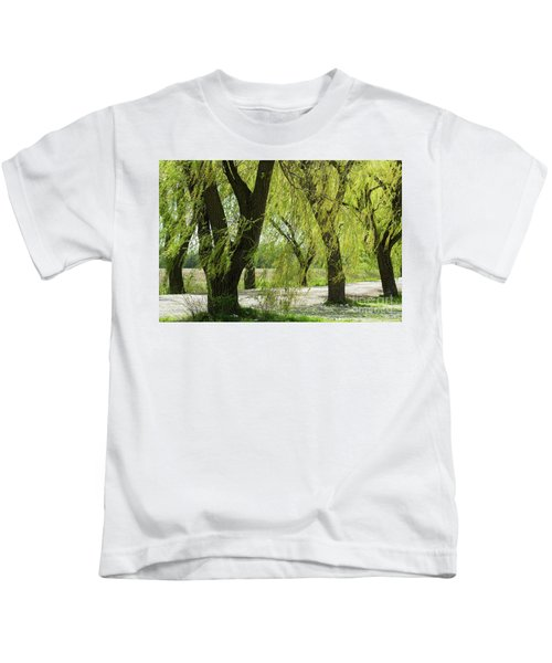 Wispy Willows-1 Kids T-Shirt